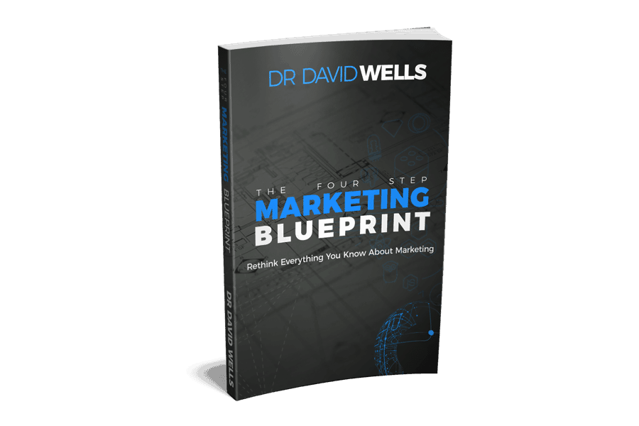 Four Step Marketing Blueprint Author Dr. David Wells CEO of marketing agency Winston Salem