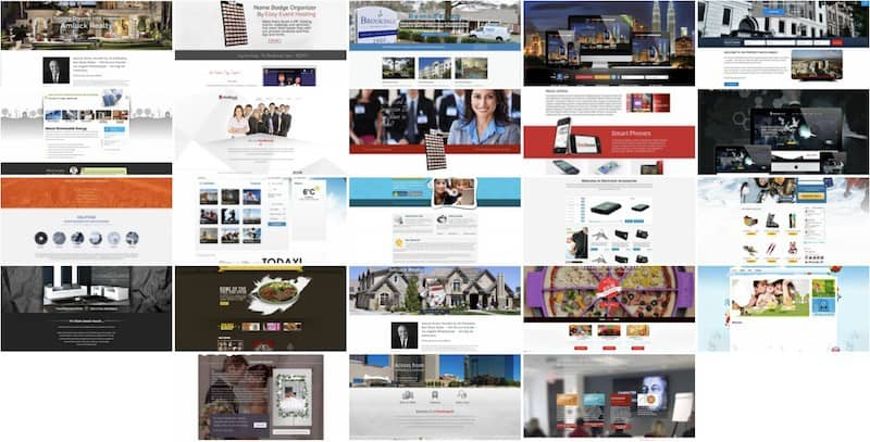custom website design gallery of website development