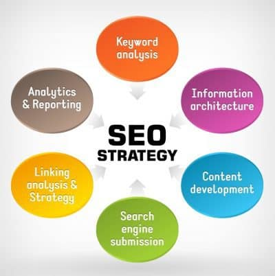 infographic of seo services and marketing from seo consultant